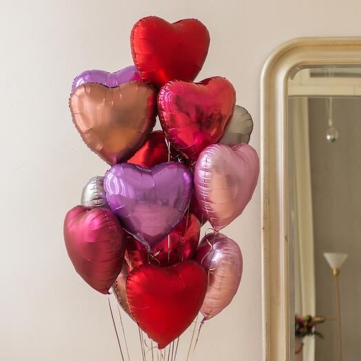 Облако сердец «In Love»