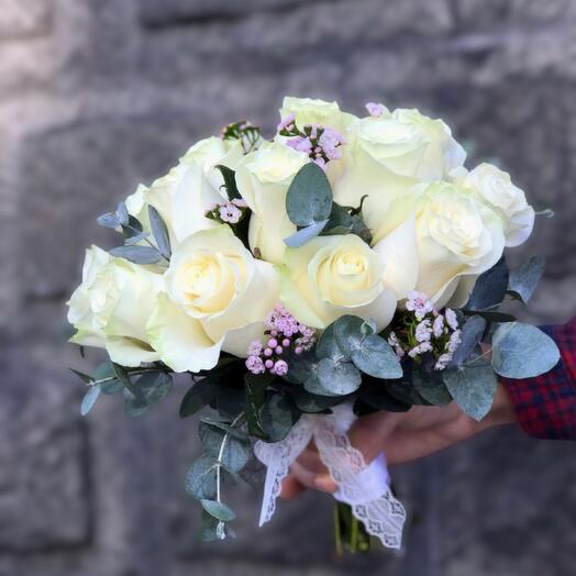 Букет невесты «Весенний»