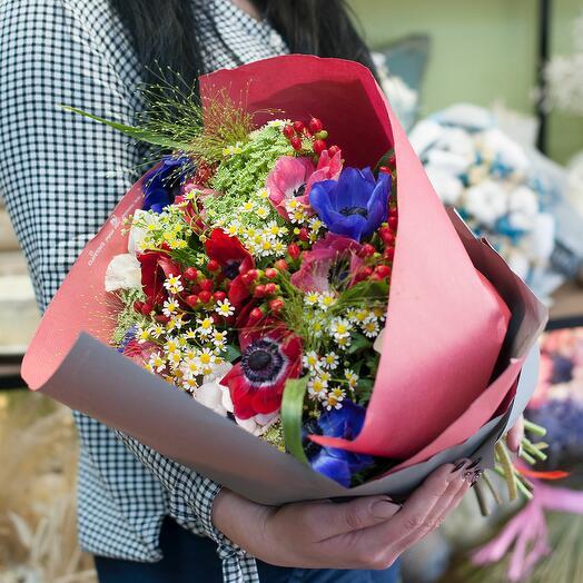 Букет цветов Lady