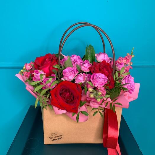 A handbag for the most vivid impressions