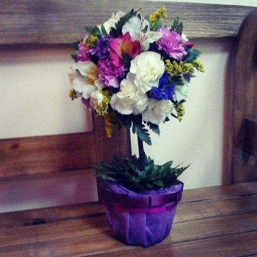 Цветочное дерево 1: букеты цветов на заказ Flowwow