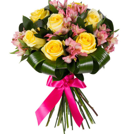 Букет Алые паруса: букеты цветов на заказ Flowwow
