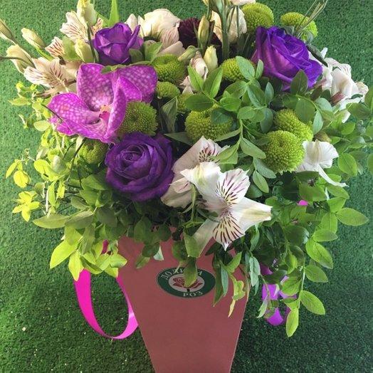 Черничный взрыв: букеты цветов на заказ Flowwow
