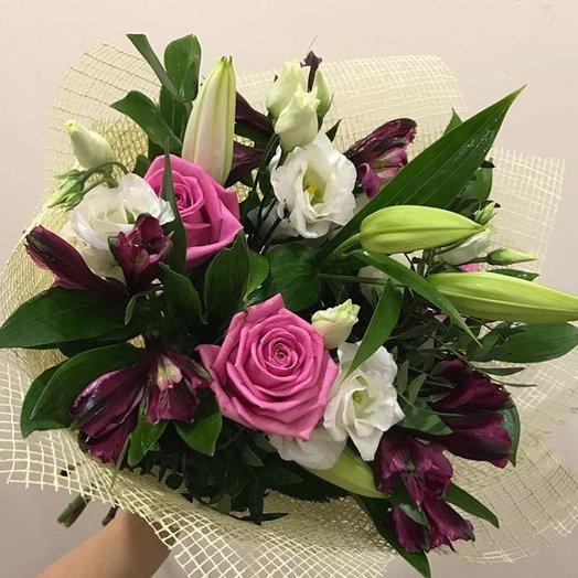 """Букет """"Перед рассветом"""": букеты цветов на заказ Flowwow"""