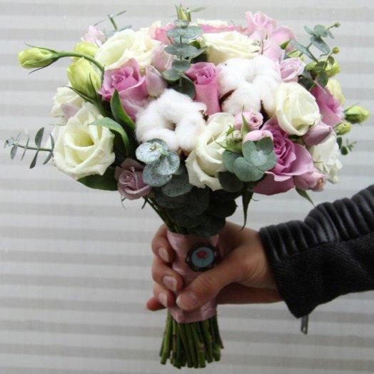 Свадебный букет 18: букеты цветов на заказ Flowwow