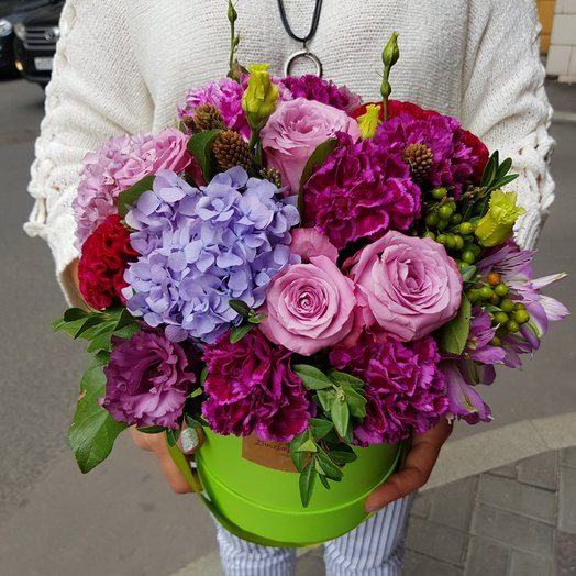 Розовое вино: букеты цветов на заказ Flowwow
