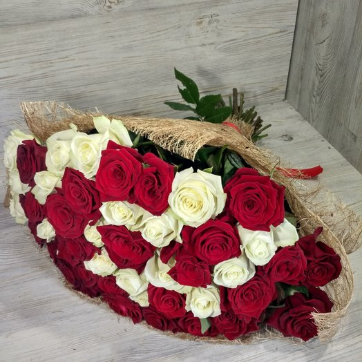 Роза микс.: букеты цветов на заказ Flowwow