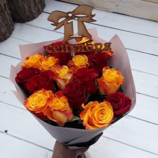 Букет 1 сентября: букеты цветов на заказ Flowwow