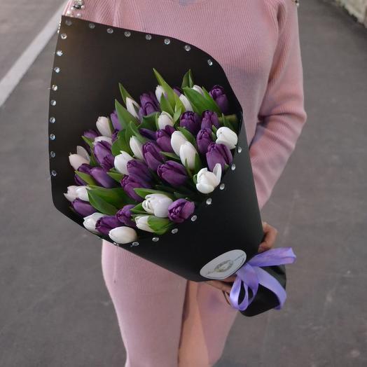 Ночь в Манхэттене: букеты цветов на заказ Flowwow
