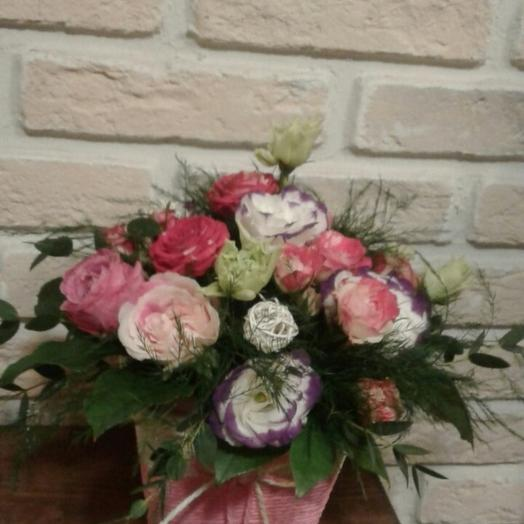 Маленький презент: букеты цветов на заказ Flowwow