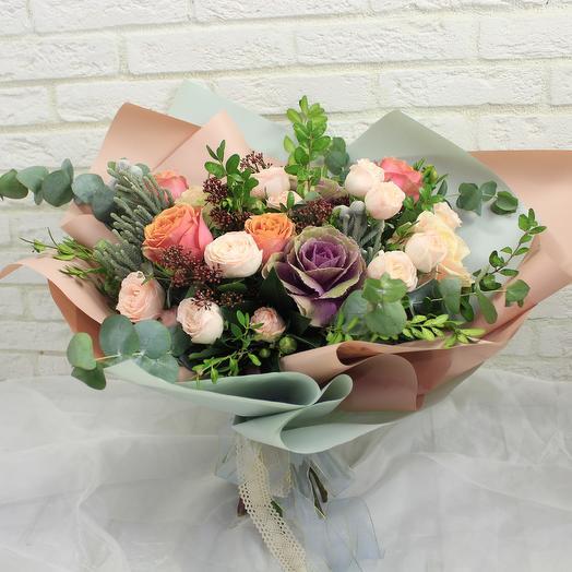 Тропический остров: букеты цветов на заказ Flowwow