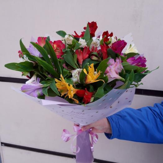 """Harlequin"": flowers to order Flowwow"