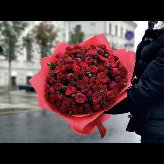 Red flowers: букеты цветов на заказ Flowwow