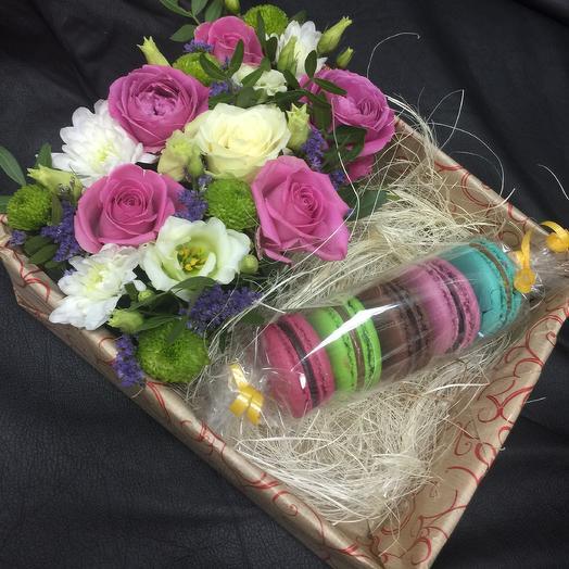 Мир сладости: букеты цветов на заказ Flowwow