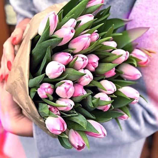 25 розовых: букеты цветов на заказ Flowwow