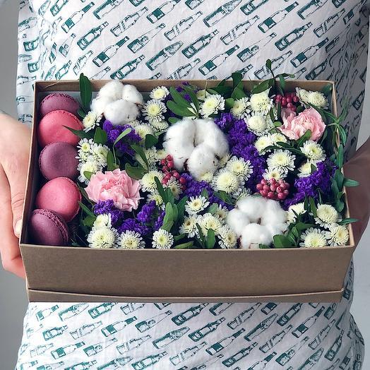 Box 16 Средний 2: букеты цветов на заказ Flowwow