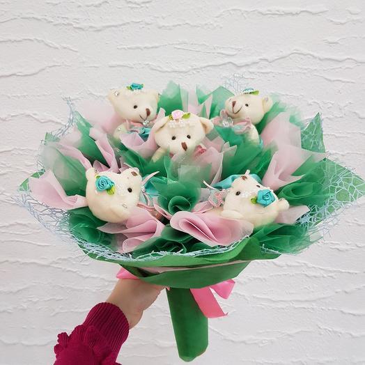 Букет из игрушек4: букеты цветов на заказ Flowwow