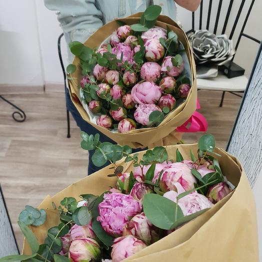 Пиончики: букеты цветов на заказ Flowwow