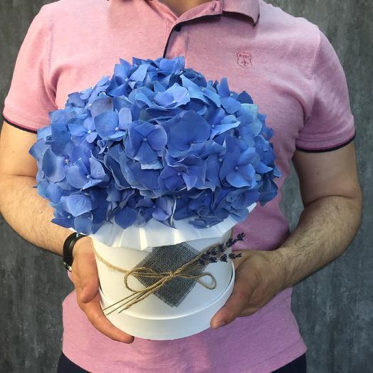 Голубой сапфир: букеты цветов на заказ Flowwow