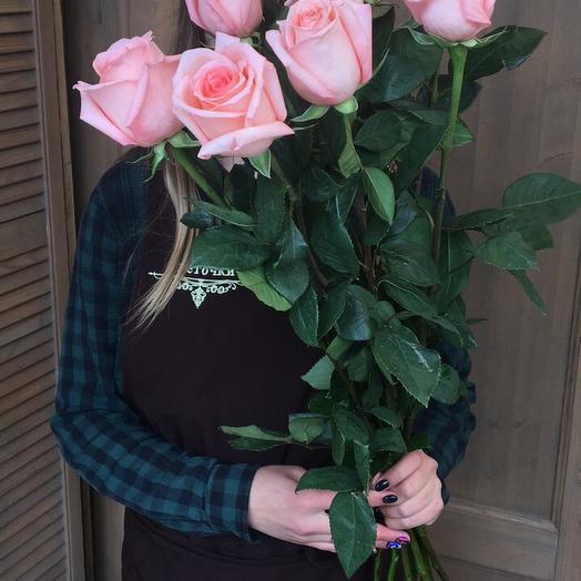"""Розочка розовая""""нежность """""""