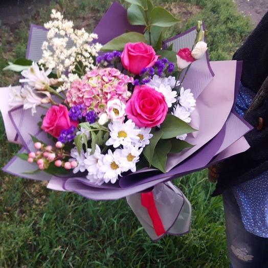 Предчуствие: букеты цветов на заказ Flowwow