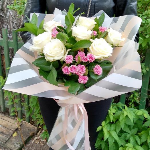 Пастелье: букеты цветов на заказ Flowwow