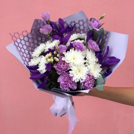 Букет «Фиолетовое чудо»: букеты цветов на заказ Flowwow