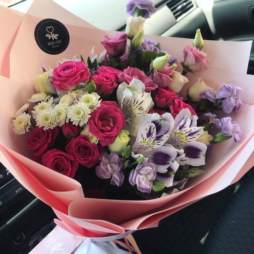 Букет « Нежная сказка»: букеты цветов на заказ Flowwow
