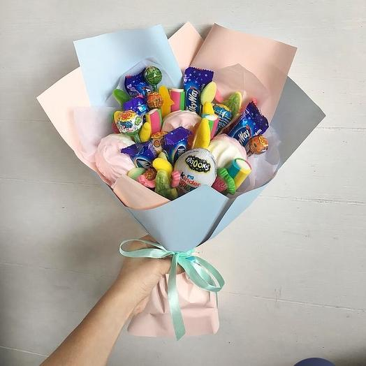 Сладкий букет Милки Вэй: букеты цветов на заказ Flowwow