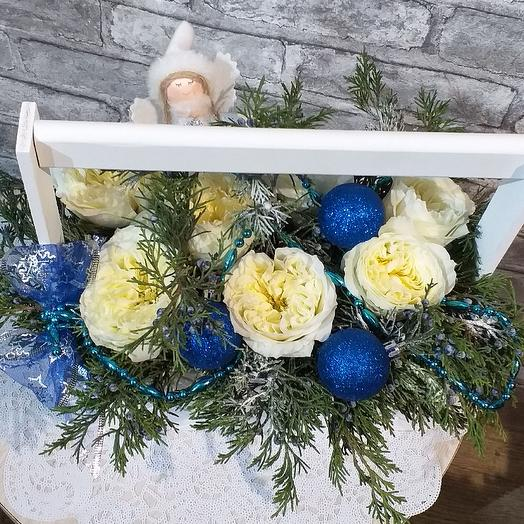 Новогодняя сказка🎄: букеты цветов на заказ Flowwow