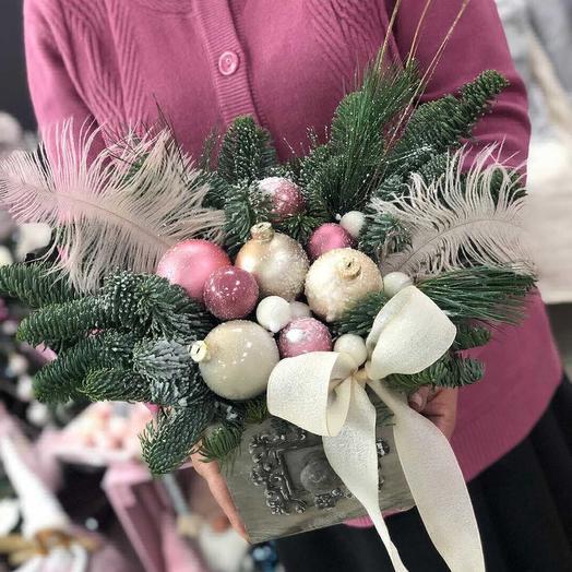 Новогодний карнавал: букеты цветов на заказ Flowwow