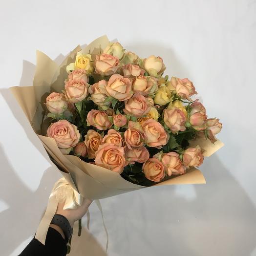 Зимнее солнце: букеты цветов на заказ Flowwow