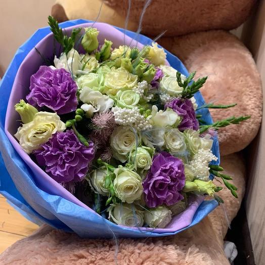 Букет Clementine: букеты цветов на заказ Flowwow