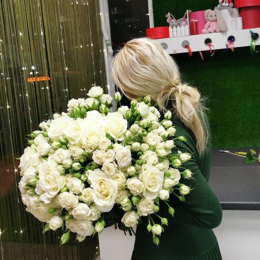Белая ночь: букеты цветов на заказ Flowwow