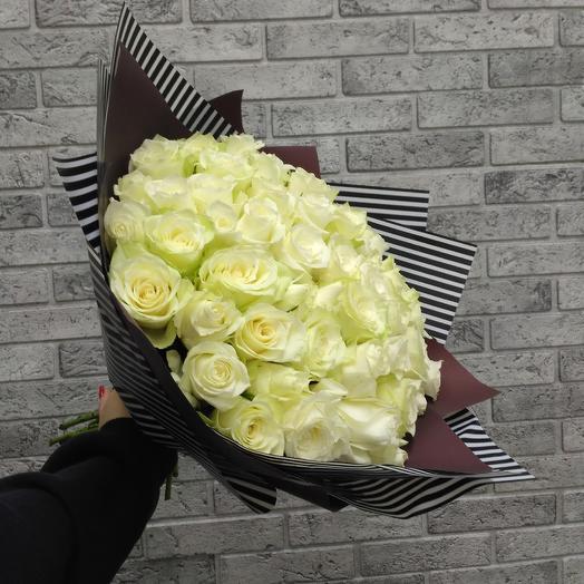 51 белоснежная роща: букеты цветов на заказ Flowwow