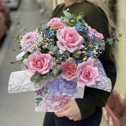 Dreams come true: букеты цветов на заказ Flowwow