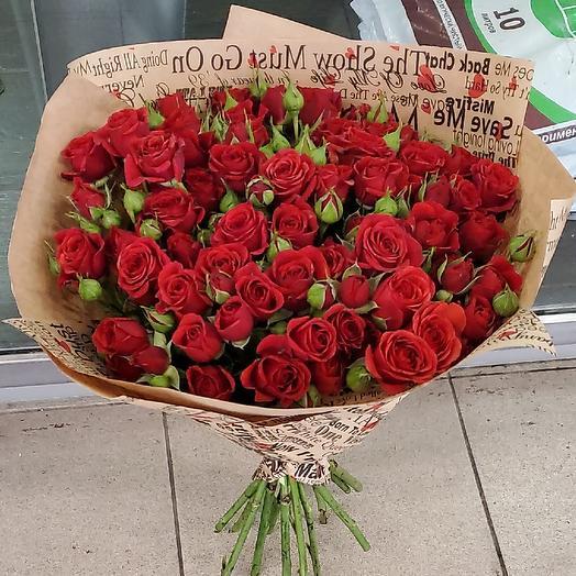 Страстная любовь: букеты цветов на заказ Flowwow