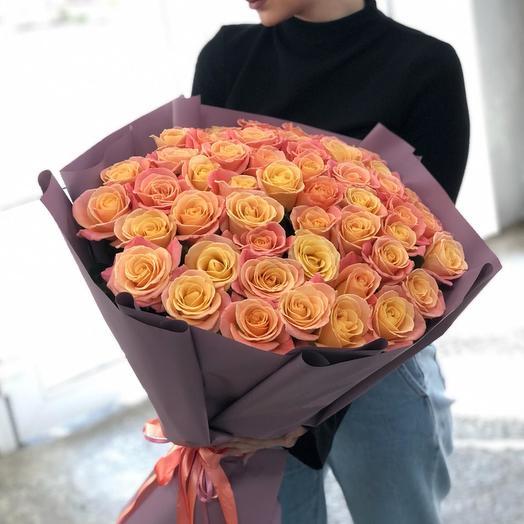 """51 роза """"Мисс Пиги"""""""