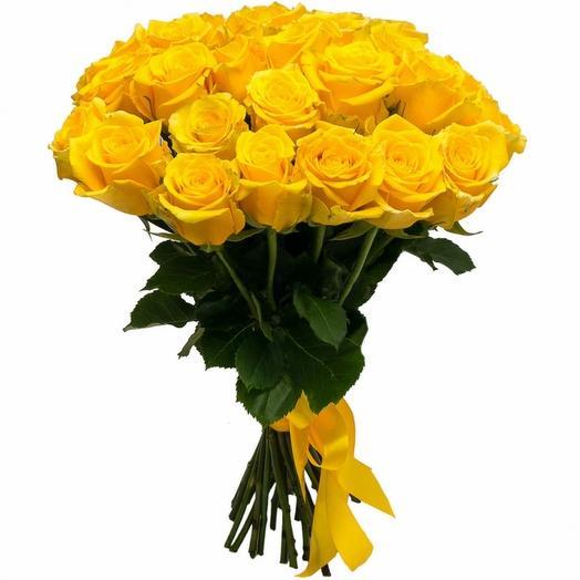 Роза эквадор 25 шт: букеты цветов на заказ Flowwow