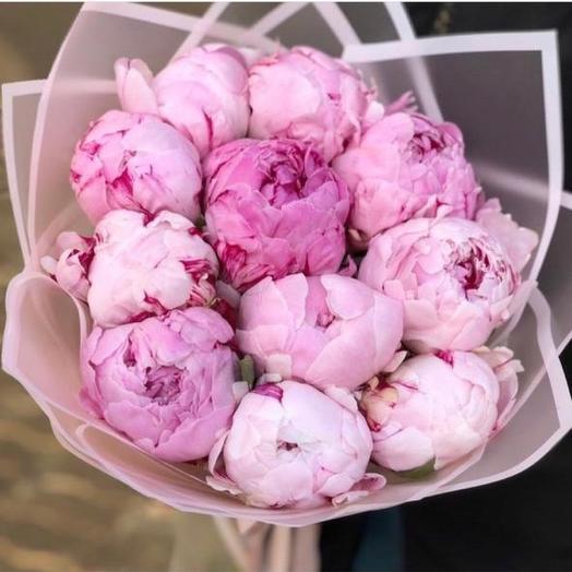 Любимые пионы: букеты цветов на заказ Flowwow
