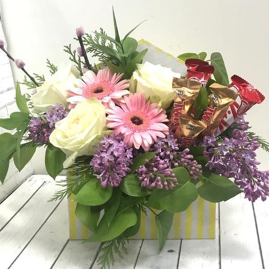 Сладкий конверт🌹: букеты цветов на заказ Flowwow