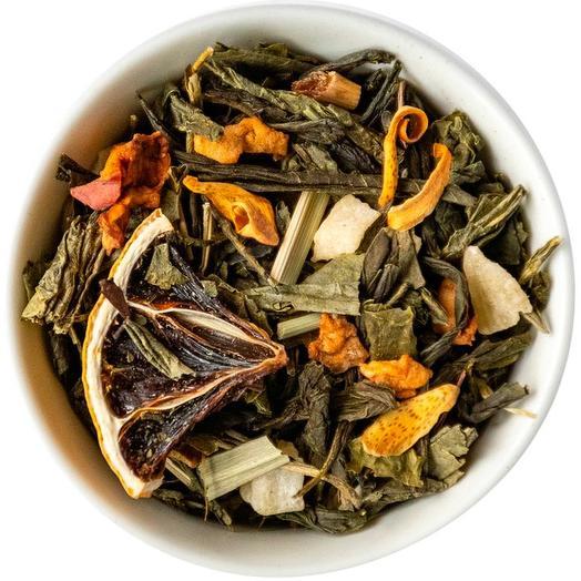 Зеленый чай с лимоном - Спелый лимон