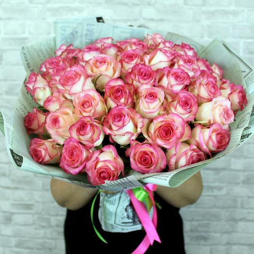 A bouquet of 51 roses Jamilia