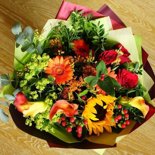Букет цветов Бэлль