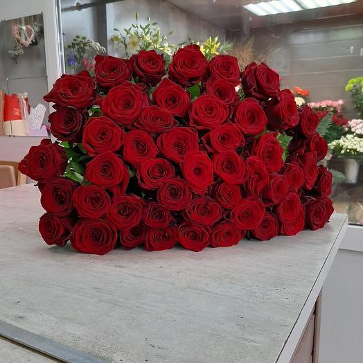 Роза 41 шт