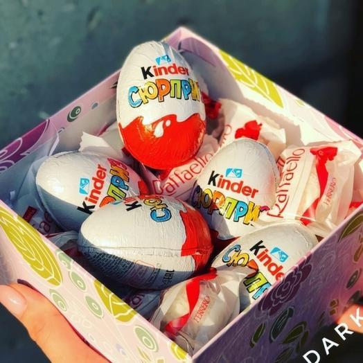 """Коробка со сладостями """"Любимке"""""""