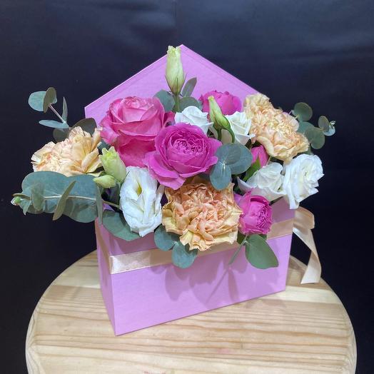 Цветочный конверт 2