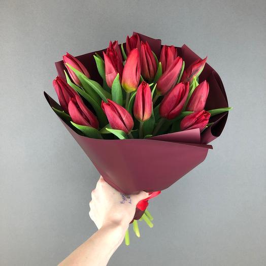 Тюльпаны моно