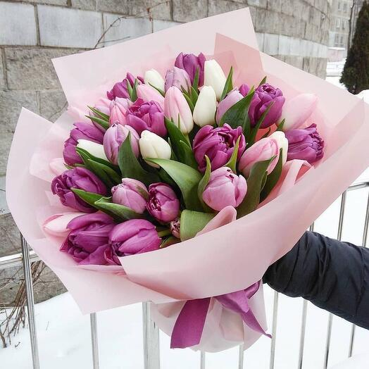 Букет Тюльпанов 55