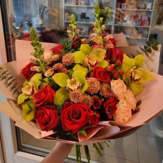 """Букет """"Роскошные орхидеи"""""""